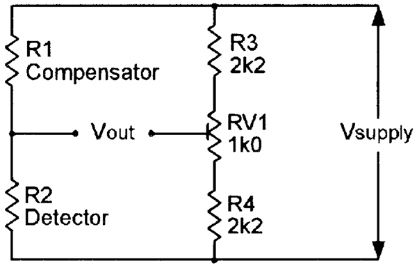 security electronics systems and circuits part 9 nuts volts basic gas detector circuit using hot wire gas sensors