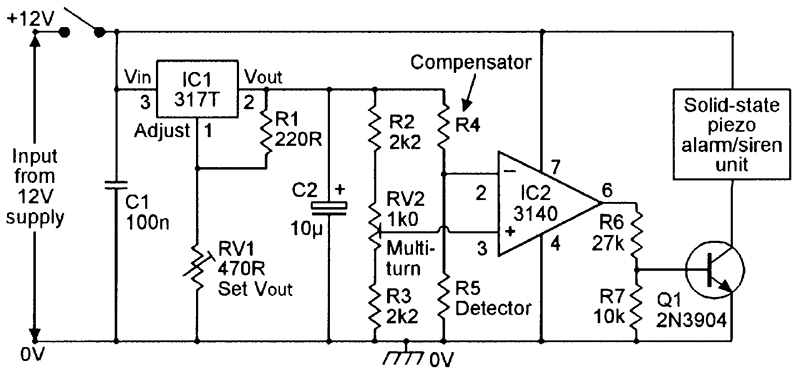 security electronics systems and circuits part 9 nuts volts rh nutsvolts com Freezing Cold Temperature Freezing Temperature in Celsius