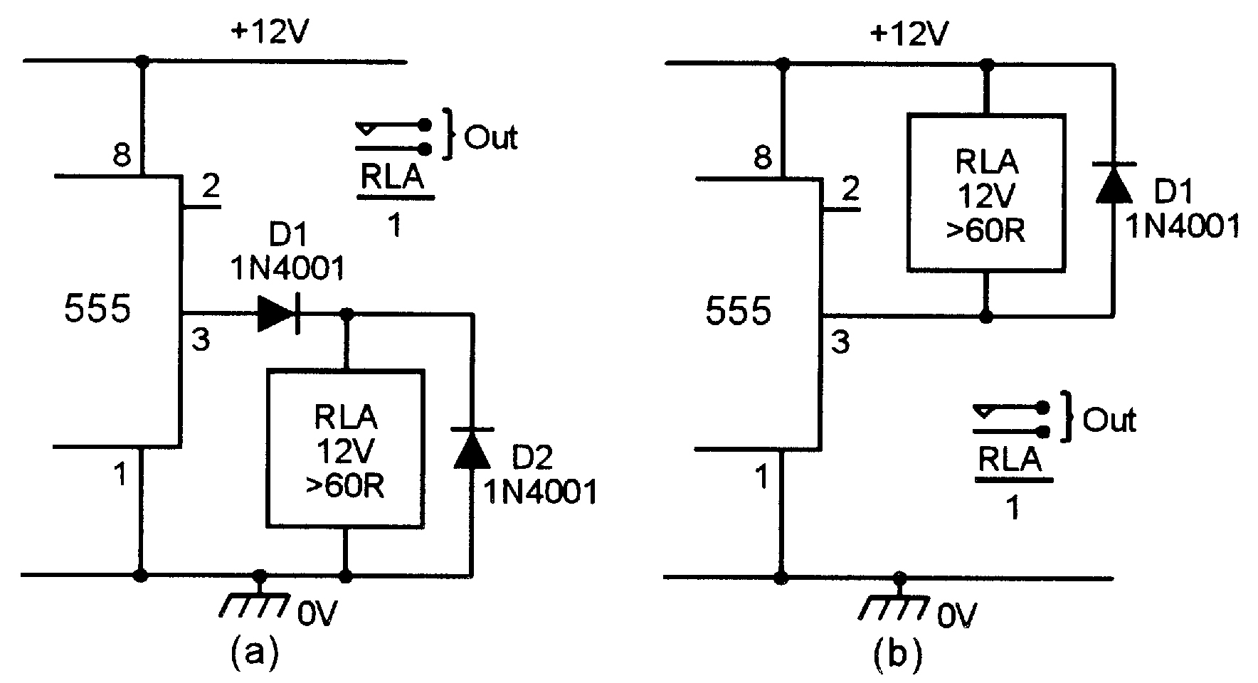 555 monostable circuits nuts volts magazine for the replacing r1 a series wired 10k fixed and 1m0 variable resistor and how a reset facility can be added to the circuit enabling the timing period