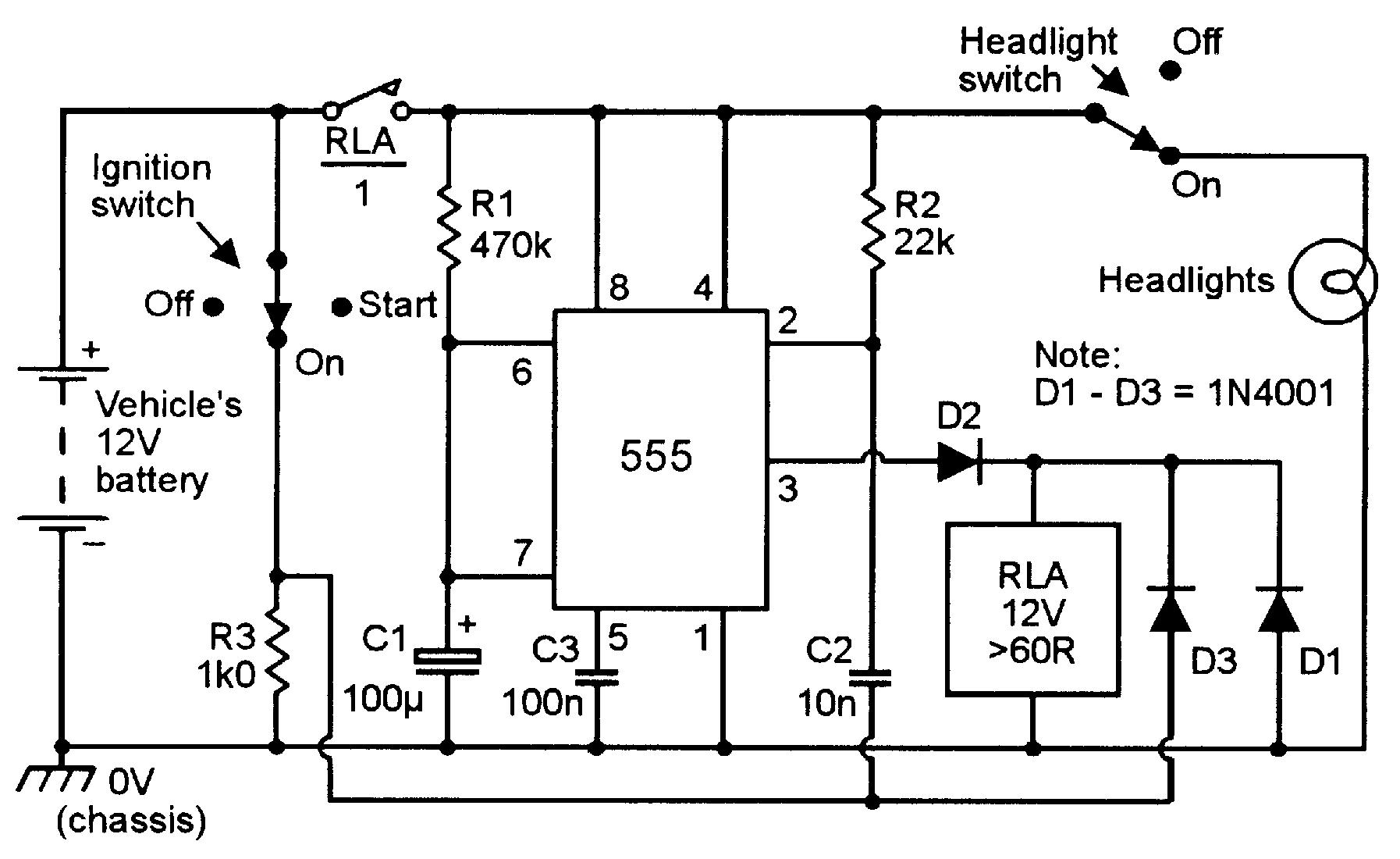 u2018555 u2019 monostable circuits