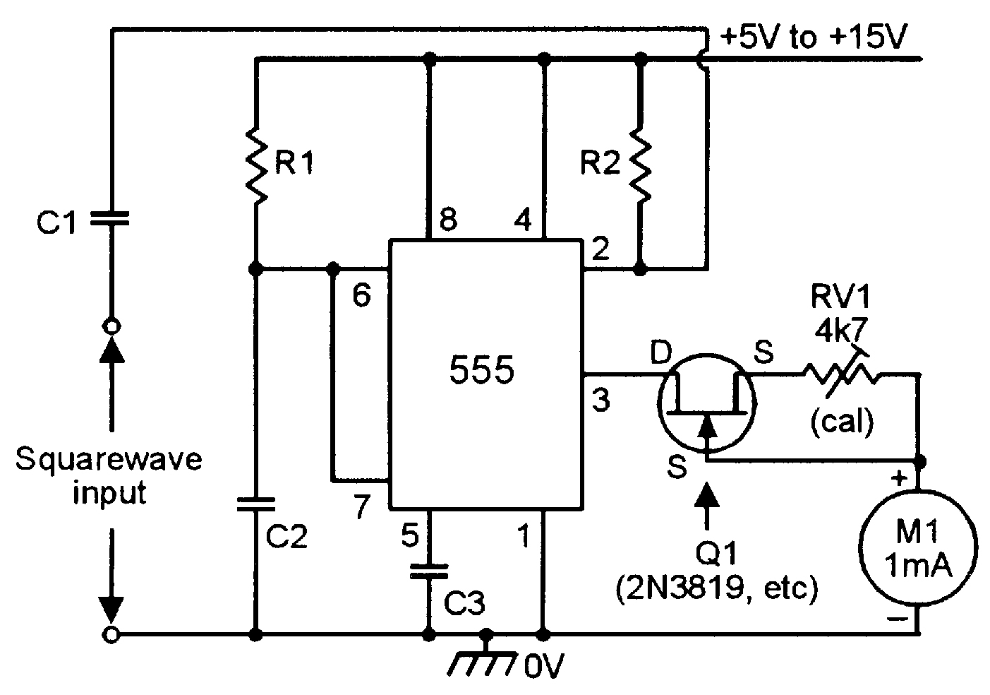 555 Monostable Circuits Nuts Volts Magazine Led Lights Using Analog Flipflop Circuit Diagram