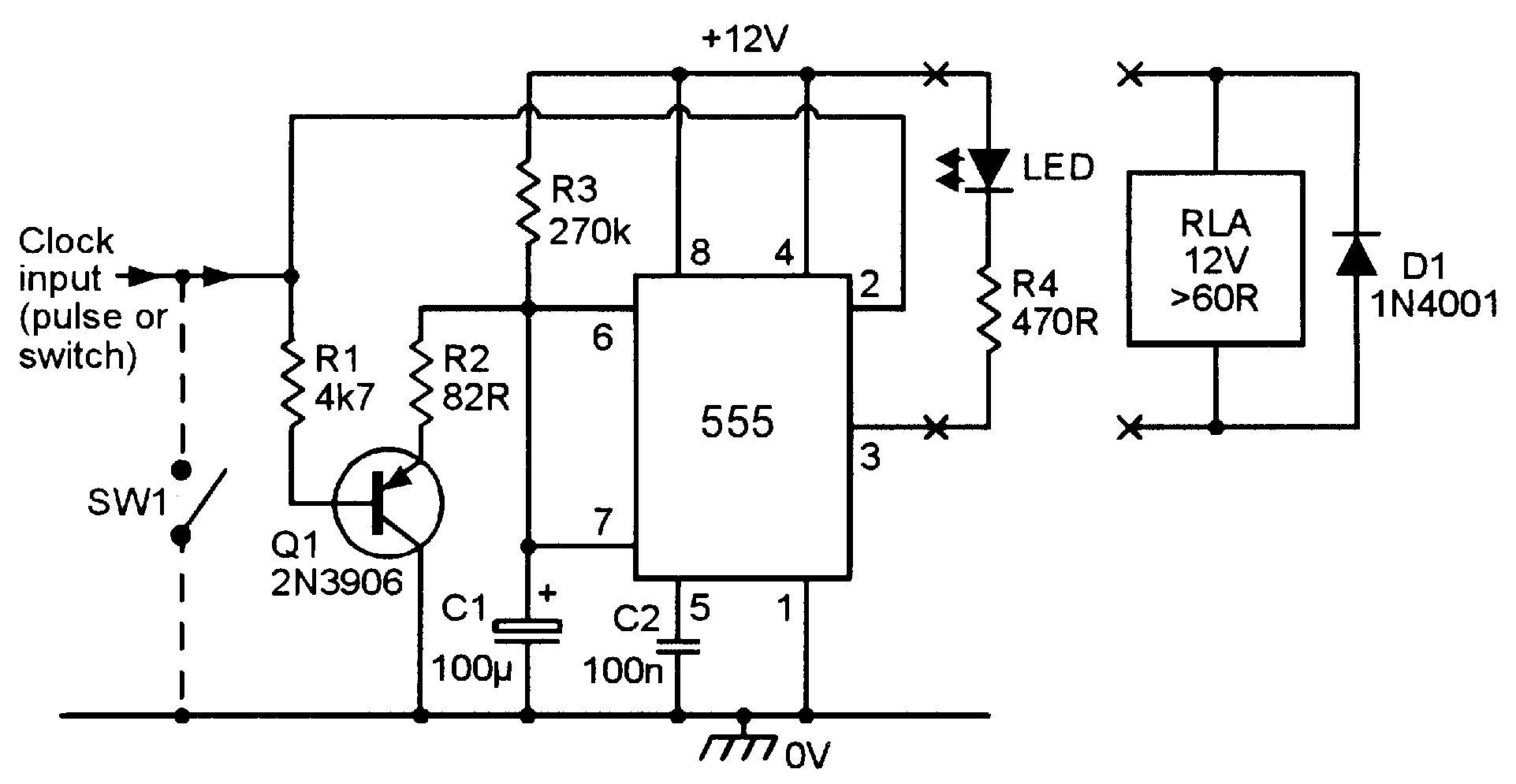 Circuit Diagram Of Relay
