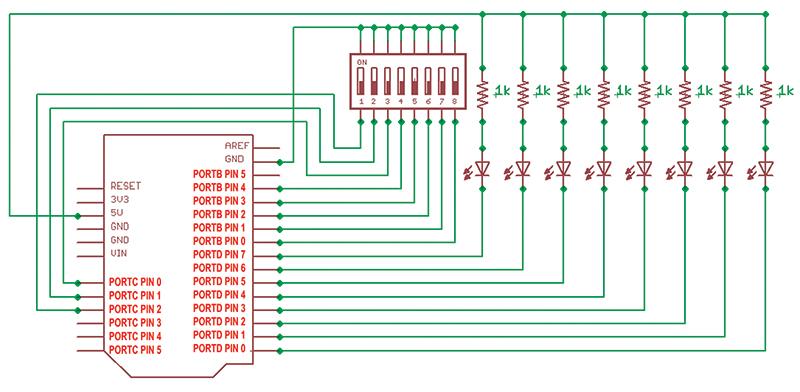 Arduino Uno Dip Switch: Atmega p pu dip microcontrolle r with ...