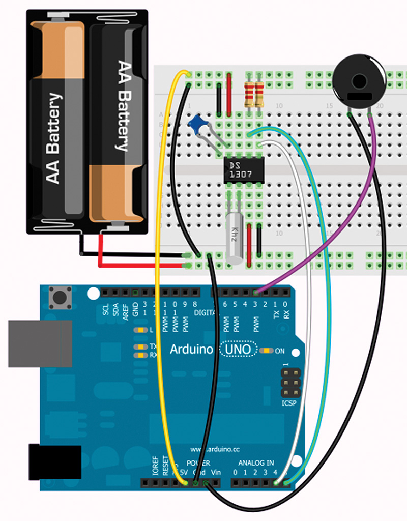 Smileys Workshop 52 Fritzing With The Arduino Part 4 Nuts Game Show Buzzer Circuit Schematic Free Download Wiring Diagram It Will Appear In Contributed Parts Bin You Can Drag To Pcb And Wire Up As Shown Figure 23