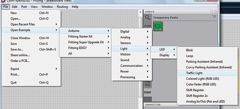 Smiley's Workshop 52: Fritzing With the Arduino — Part 4 | Nuts