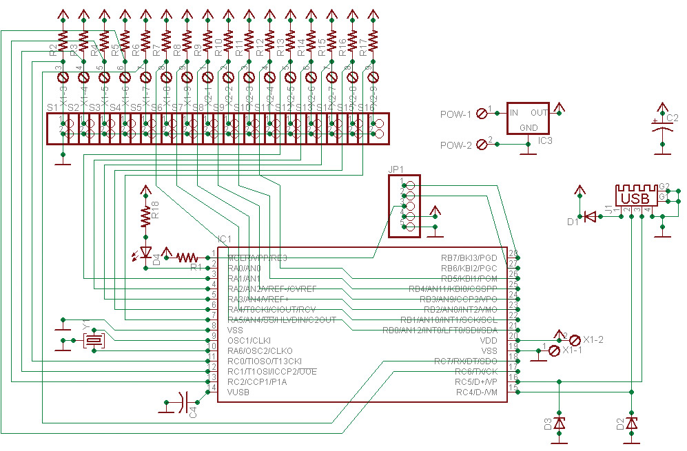 usb keyboard wiring diagram for  block and schematic diagrams •