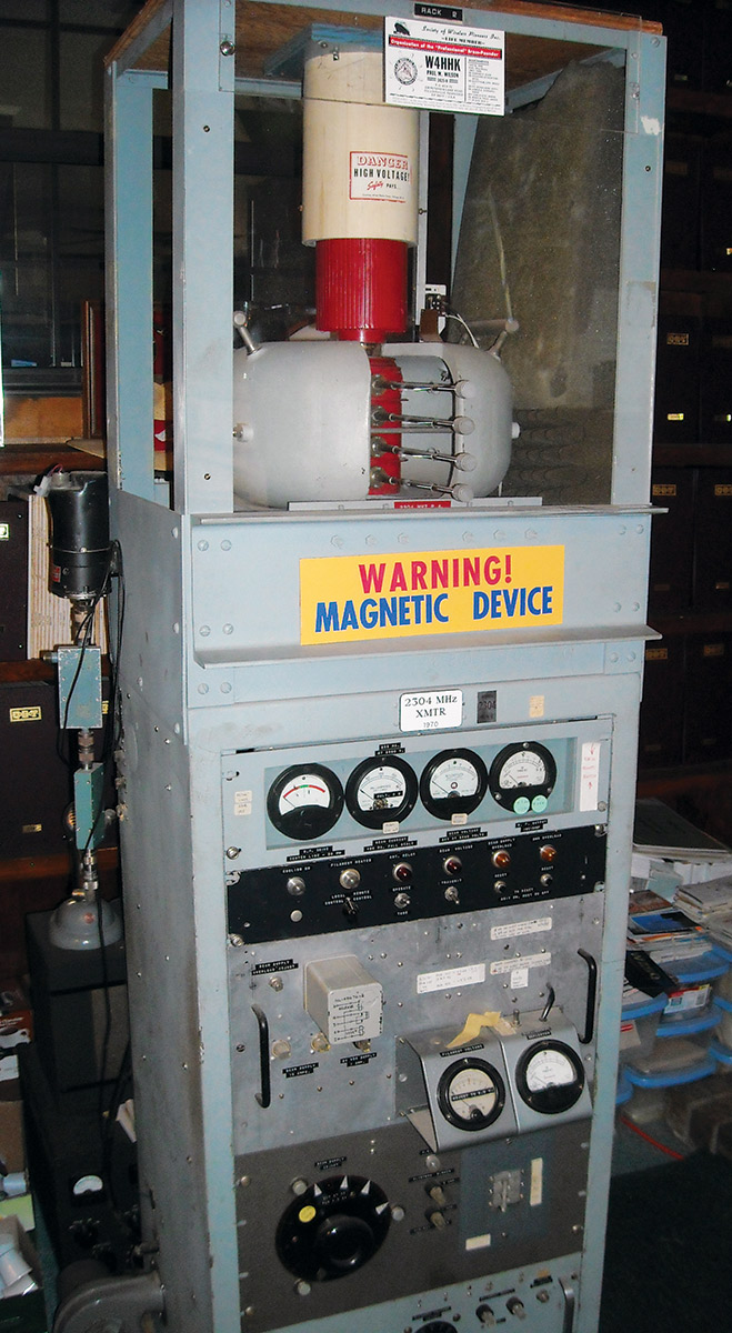 Vacuum Tubes Nuts Volts Magazine Circuitdiagram Basiccircuit Mje130052electronicballastcircuit Figure 8 On Display At The Station Of W5zn This Magnetron Was Used To Make Some First Amateur Radio Earth Moon Eme Or Moonbounce Contacts