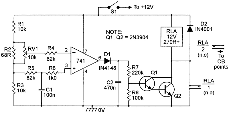 security electronics systems and circuits part 10 nuts volts basic voltage sensing alarm circuit