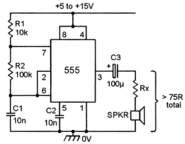 555 astable circuits nuts volts magazine rh nutsvolts com Simple Oscillator Circuit 555 Tone Generator Schematic