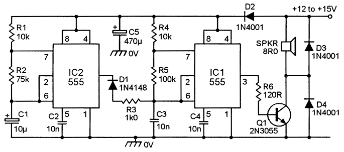 555 astable circuits nuts volts magazine rh nutsvolts com IC 555 Function Generator Circuit Electronic Circuit Diagrams