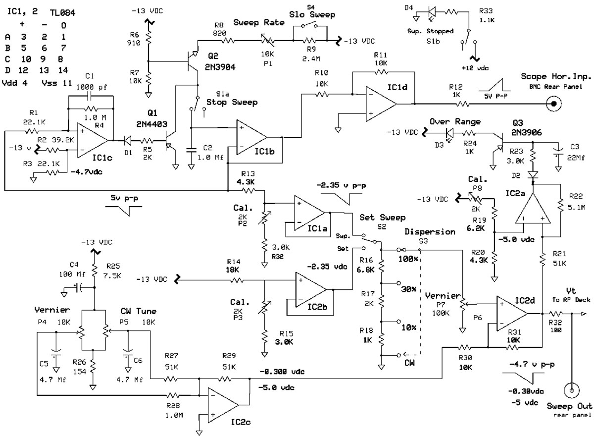 Construction Of A Low Budget 180 Mhz Rf Sweep Generator Nuts Tone Circuit Diagram