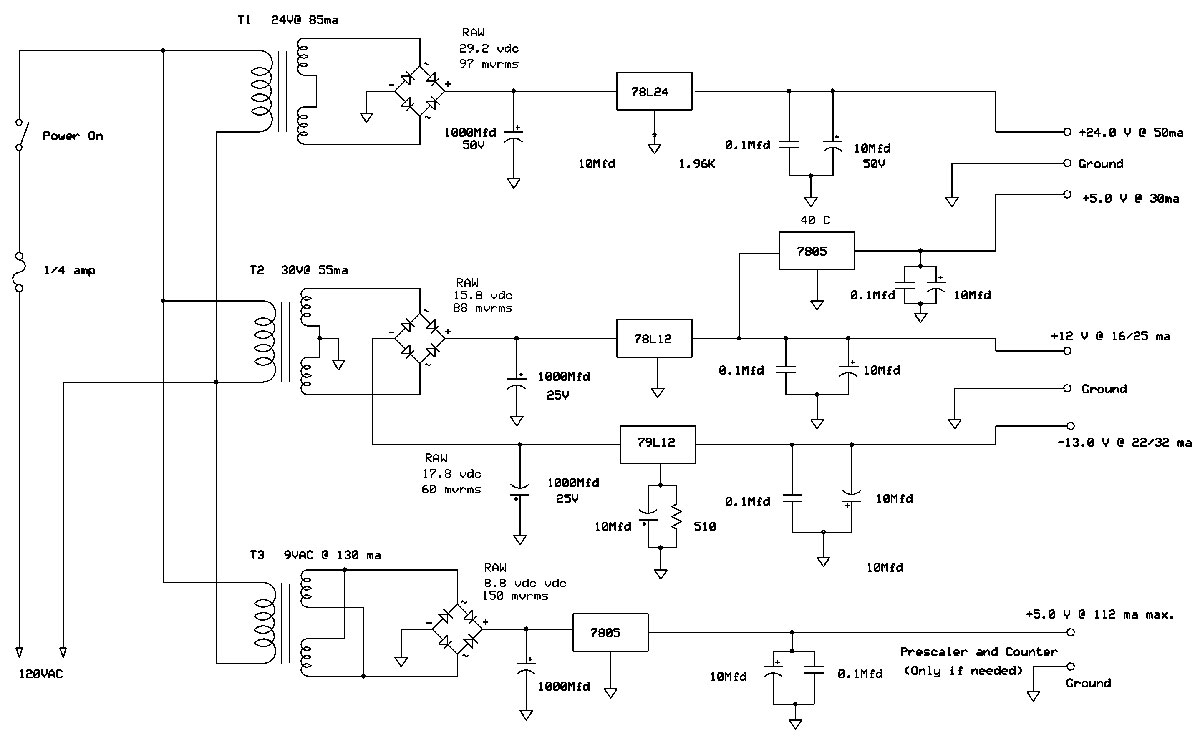 Construction Of A Low Budget 180 Mhz Rf Sweep Generator Nuts Lm3900 Audio Mixer Power Supply