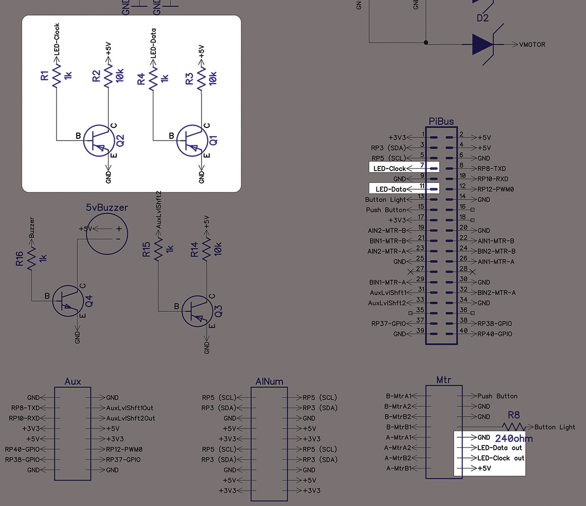 Build A Custom Weather Gauge Part 1 Nuts Volts Magazine Led Driver Circuit Schematic Http Www Learningelectronics Net Circuits Strip
