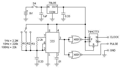 555 flip flop circuit variable duty cycle 555 circuit