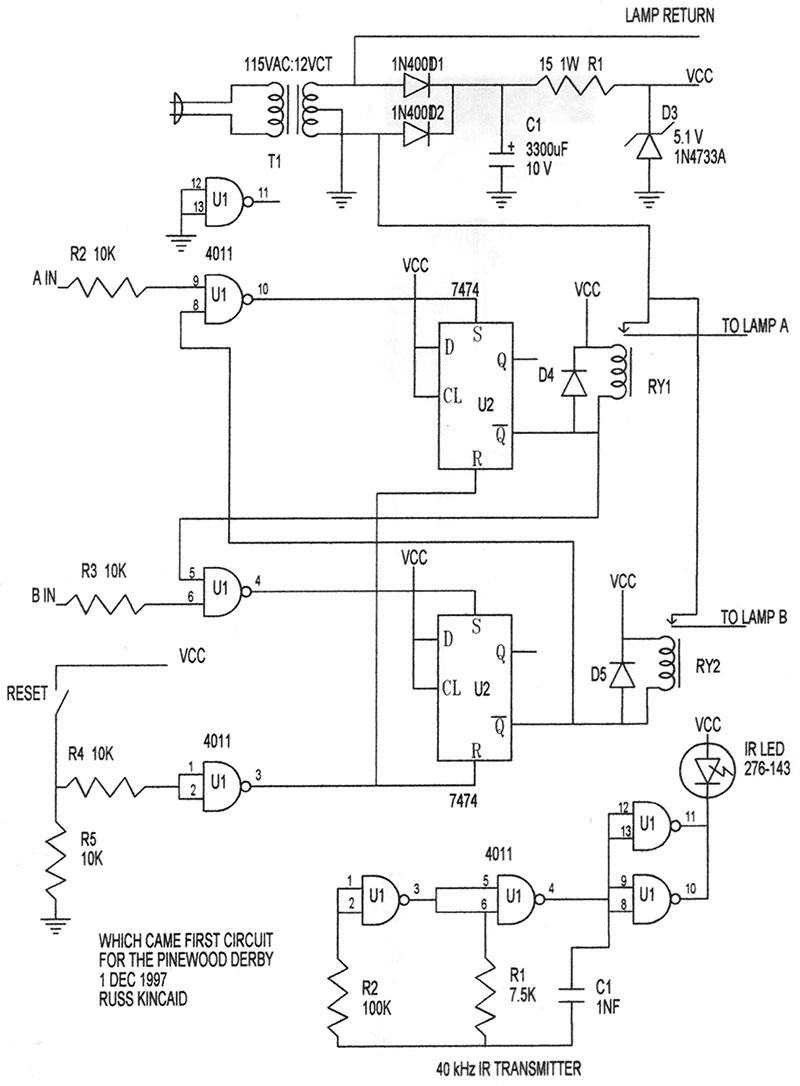 Derby car wiring diagram